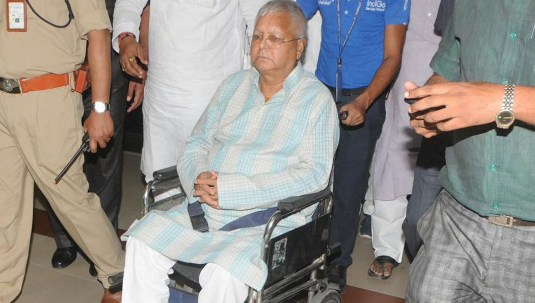 lalu prashad in hospital